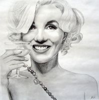 Marilyn Monroe by ASaunders