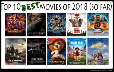 Top 10 Best Movies Of 2018 So Far by kouliousis