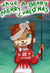 Have a Beary Merry Christmas~ by CaitlinBear