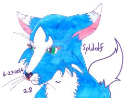 Placid Wolfess by SpellboundFox