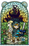 Breath of the Wild Stained Glass 2 by Ranefea