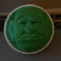 Another Golf Ball Carving by Des804