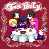 Crossover - Tea Party!! by Hiroshinki