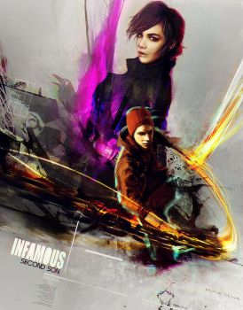 Infamous Second Son by SiriCC