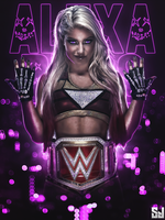 Alexa Bliss-  New Raw Women's Champion by Sjstyles316