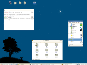 Gnome blue gtk by hous3