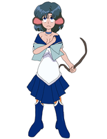 Sailor Mercury mouse tf by Xysash