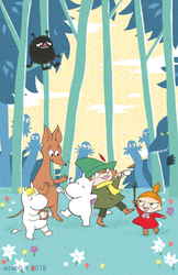 the moomins by thewrabbithole