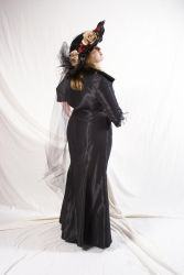 The Lady in Black 9 by lindowyn-stock