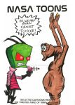 Invader Zim meets his arch-nemesis by mentaldiversions