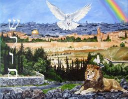 Shalom Jerusalem by FreeMeadows