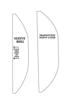 Sailor Scout Sleeve Roll Pattern by KellaxProductions