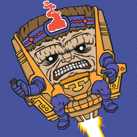 Terrible Tuesday - MODOK by KahunaBlair
