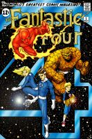 Fantastic Four Mock cover coloured by judsonwilkerson