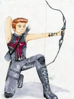 Hawkeye by Checker-Bee