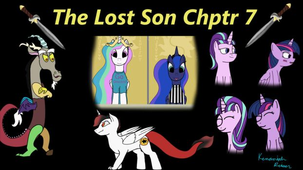 The Lost Son Chptr 7 Art compilation by FireHeartDraws