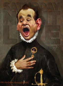 Bill Murray - El Greco by RodneyPike