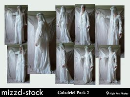 Galadriel Pack 2 by mizzd-stock