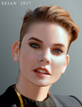 Barbara Palvin Portrait by SEINICK