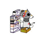 PETTING MISSINGNO. by ZyloBunny