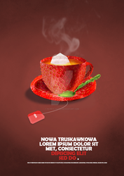 New tea poster concept by patrycjaap94