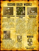 Oddworld Newspaper by Jazon19