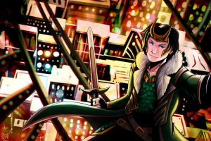 Agent of Asgard by XenonB