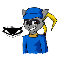 Sly Cooper by MikaMilaCat
