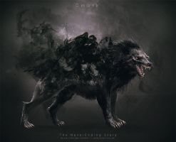 NeverEnding Story Redesign // Gmork by Vorace-Art