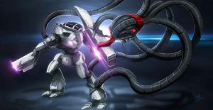 Mecha Fight by Namh