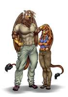 Com - Cliff and Maggie by Pia-sama