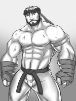 [PRACTICE SKETCH] HOBO RYU by rhimes1999