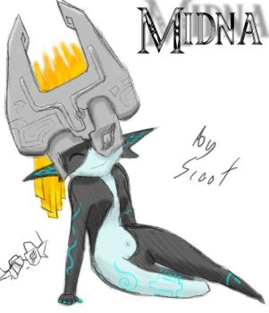 Midna Just Being Cute by ScootWHOOKOS