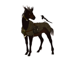Thanatos | Stag | Herdmember by MelonHeadGirl