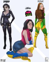 ENVIOUS of the X-WOMEN by jackcrowder