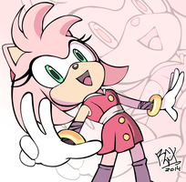 Sonic Boom - Amy by RGXSuperSonic