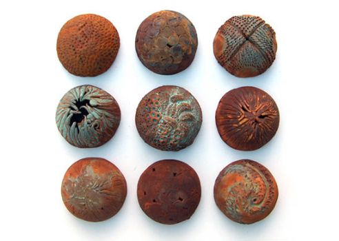 rusted pods by mariegibbons