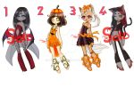 Halloween adopts OPEN (Paypal only) by Nymaruchan
