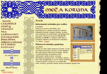 Website for Summer Camp 2008 by MatejCadil