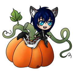 ych halloween pumkin The-Last-Dovahkiin Nighe by anineko