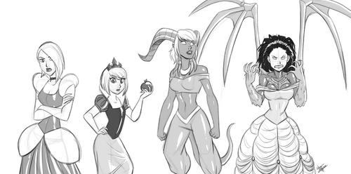 Disney Princess: Heroes of the Storm Edition by alienhominid2000