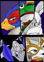 Starfox team... by Touwaka