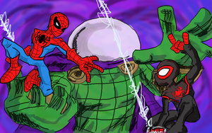 The Spectacular Spider-Men by Jonny-Aleksey