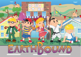 EarthBound 20th by Kosmotiel
