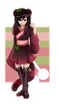 Gacha Result: Black Cherry by CynicalAdopts