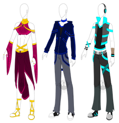 Outfit Adopts 2 (Open) by SuicideStorm