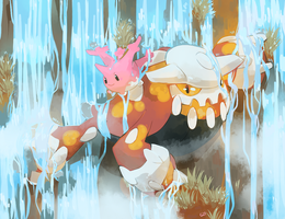 [Day 17 and 18] Corsola and Heatran
