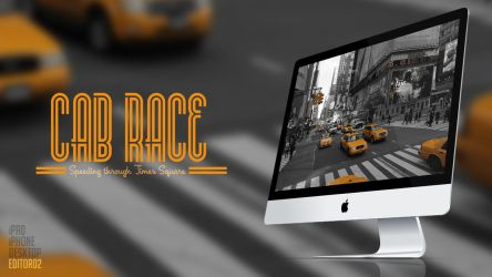 Cab Race - Wallpaper by GavinAsh