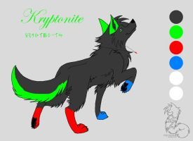 Kryptonite Lineart by aluekasivu
