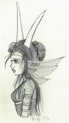 There's no love for a wretched queen by Baby-Blion